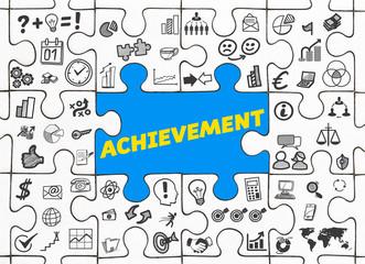 Achievement / Puzzle mit Symbole