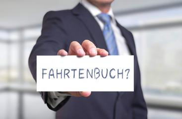 Fahrtenbuch?