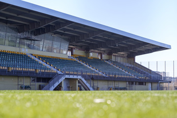 Fotobehang Stadion Soccer stadium tribune