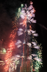 new year's fireworks in Dubai