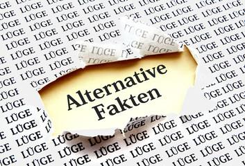 """Unter Lügen befinden sich manchmal """"Alternative Fakten"""""""