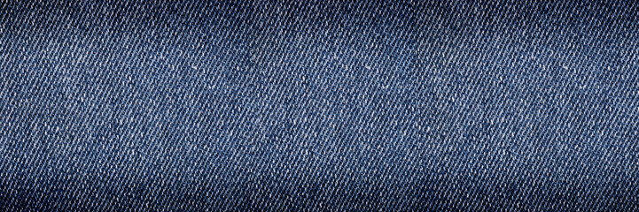 horizontal classic jeans texture for background and design
