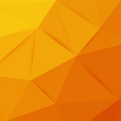 Abstract orange graphic art