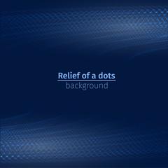 blue light dot relief water technology