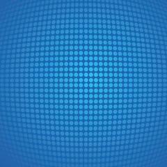 Blue retro pop art background