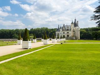 Schloss Chenonceau an der Cher, Department Indre-et-Loire, Region Centre, Frankreich