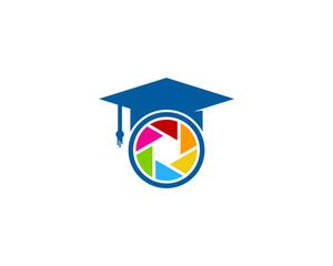 Photography Education Icon Logo Design Element