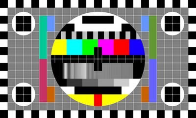 TV test image