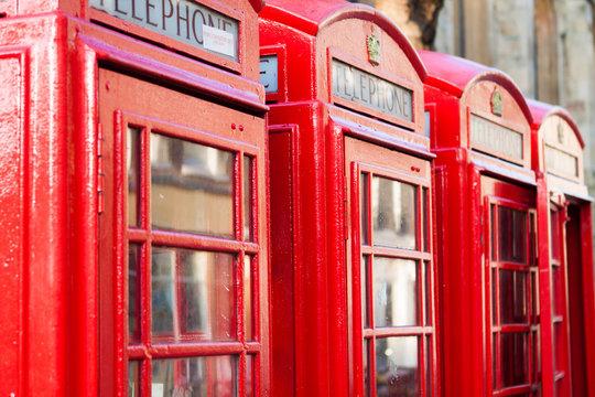 English Red Phonebox