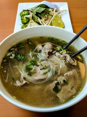 Delicious Vietnamese Pho Soup