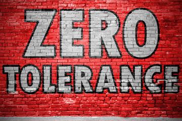 Zero Tolerance Graffiti