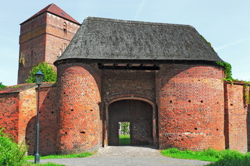 Wittstock, Burganlage