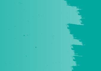 Grunge texture. Blue rectangular background with ragged edge.