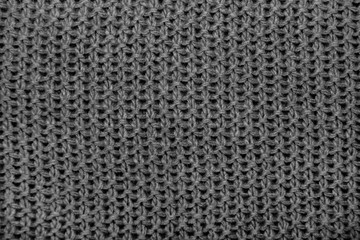 Black and white background texture, knitted scarf