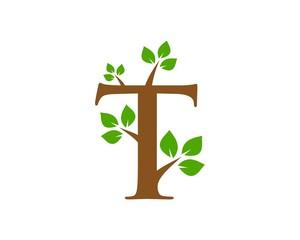 T leaf