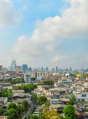City views of Bangkok Asia Thailand