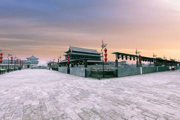 China xian ancient city wall  Fototapete