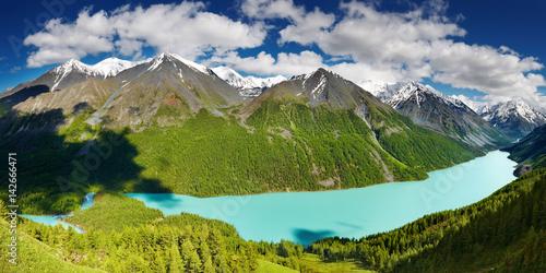 Wall mural Mountain lake