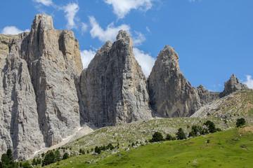 Berge - Dolomiten - Sella - Sellatürme - Italien