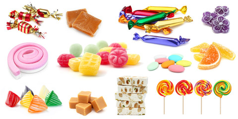 Wall Murals Candy Confiserie