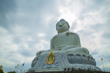 Big Buddha monument on the Phuket island, Thailand.