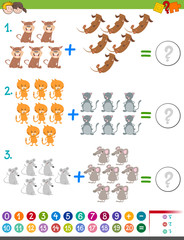 addition maths activity for kids