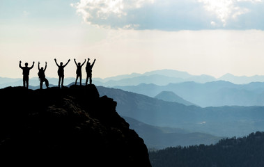 başarılı insanlar & azimli ve kararlı ekip
