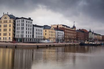 North Harbor in Helsinki, Finland