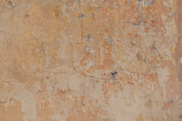 Canvas Prints Old dirty textured wall old wall structure warm tone