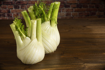 Fennel on table