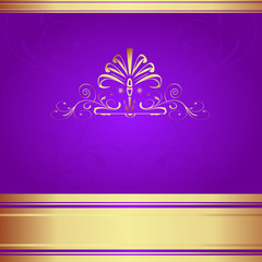 Background-Elegant Purple for Wedding or Corporate