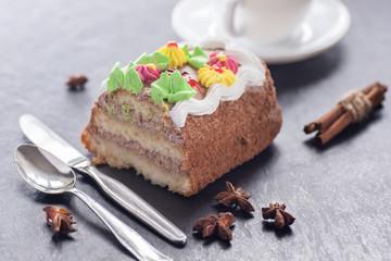 Birthday sweet cake