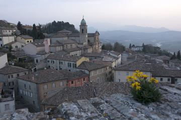 Verucchio, Valmarecchia, Rimini, Romagna, Italia