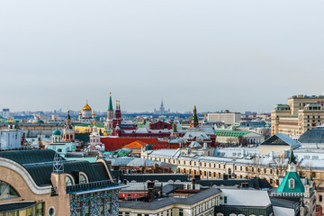 Historic center of Moscow