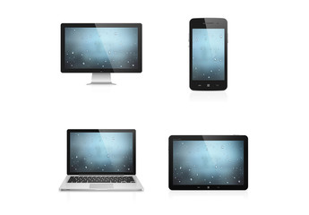 4 Photorealistic Device Icons 1