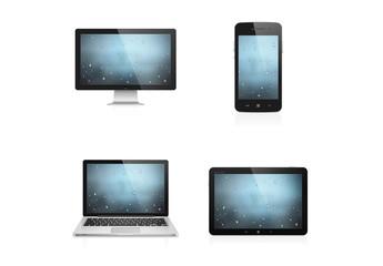 4 Photorealistic Device Icons 1