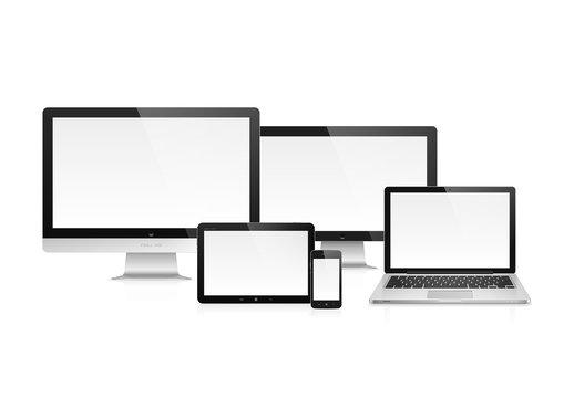 4 Photorealistic Device Icons 2