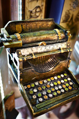 Model of typewriter