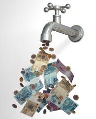 Cash tap 3D