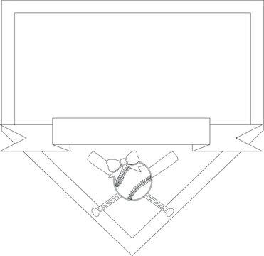 Baseball/Softball Frame