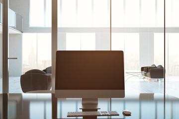 Blank pc screen toning