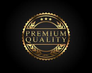 Premium Quality Badge Gold