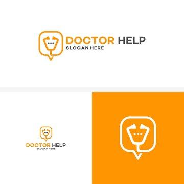 doctor consult logo, Doctor Help Logo designs