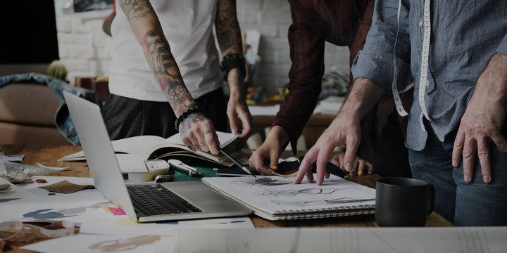 Fashion Designer Stylish Showroom Concept