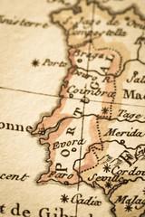 アンティークの古地図 ポルトガル