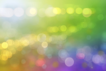 Colorful Bokeh Blur Background.