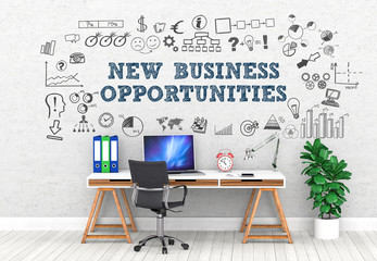 new business opportunities / Office / Wall / Symbol