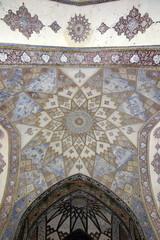 Fin, Kashan, Esfahan, Iran, March 23, 2017, is a historical Persian garden.
