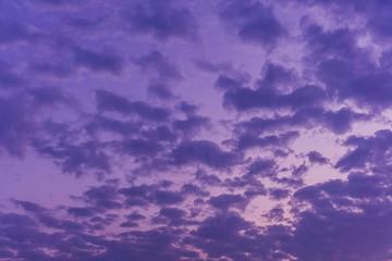 Clouds Sky Background violet color