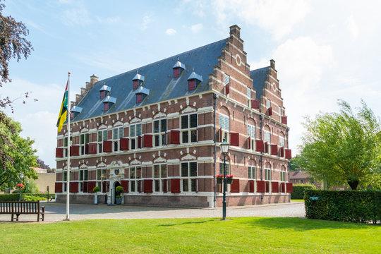 Museum Mauritshuis in Willemstad, Netherlands